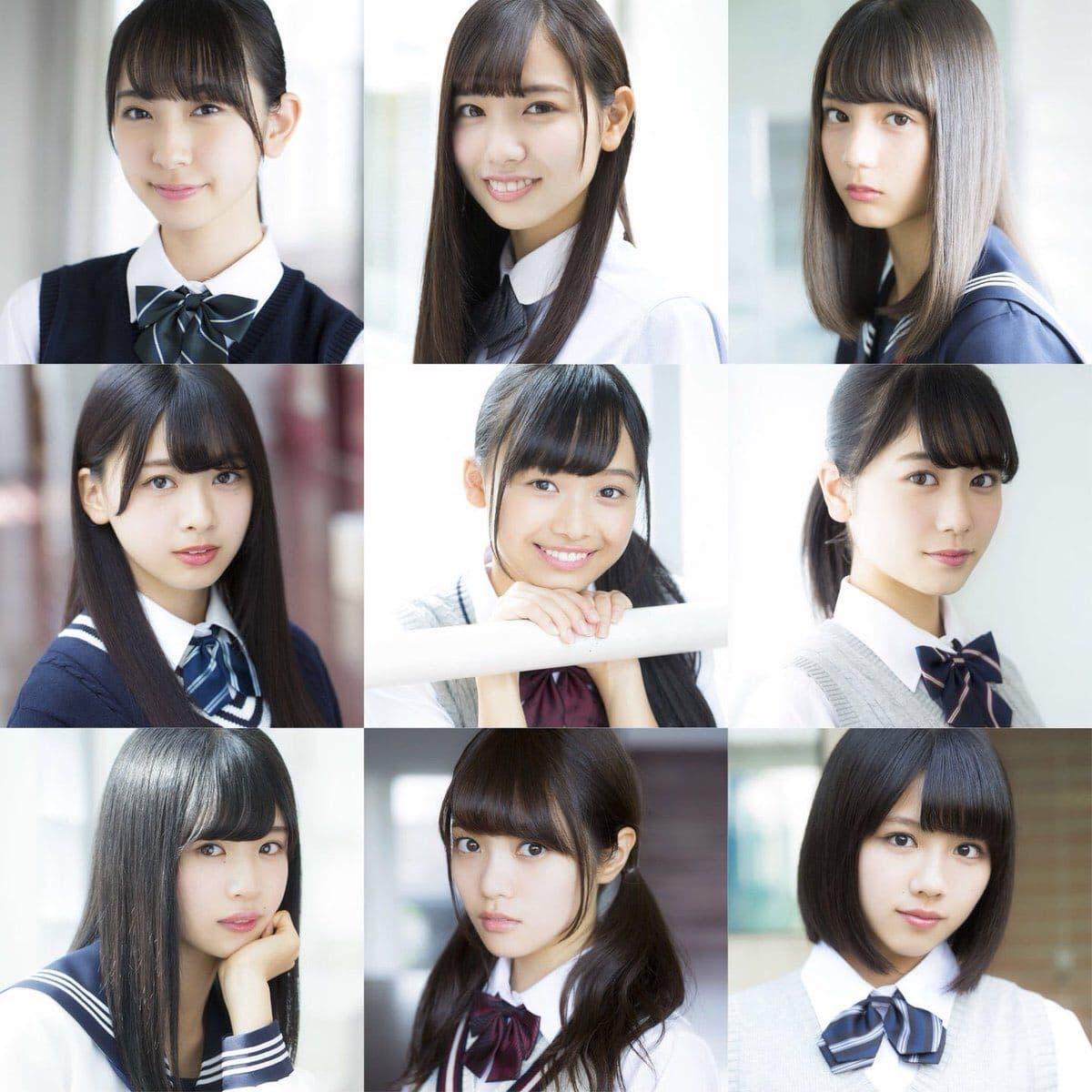 Keyakizaka46] Summary of Keyakizaka46 members 1st photos