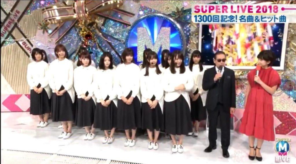Keyakizaka46]Miyu Suzumoto's shoes put on at Music Station becomes a